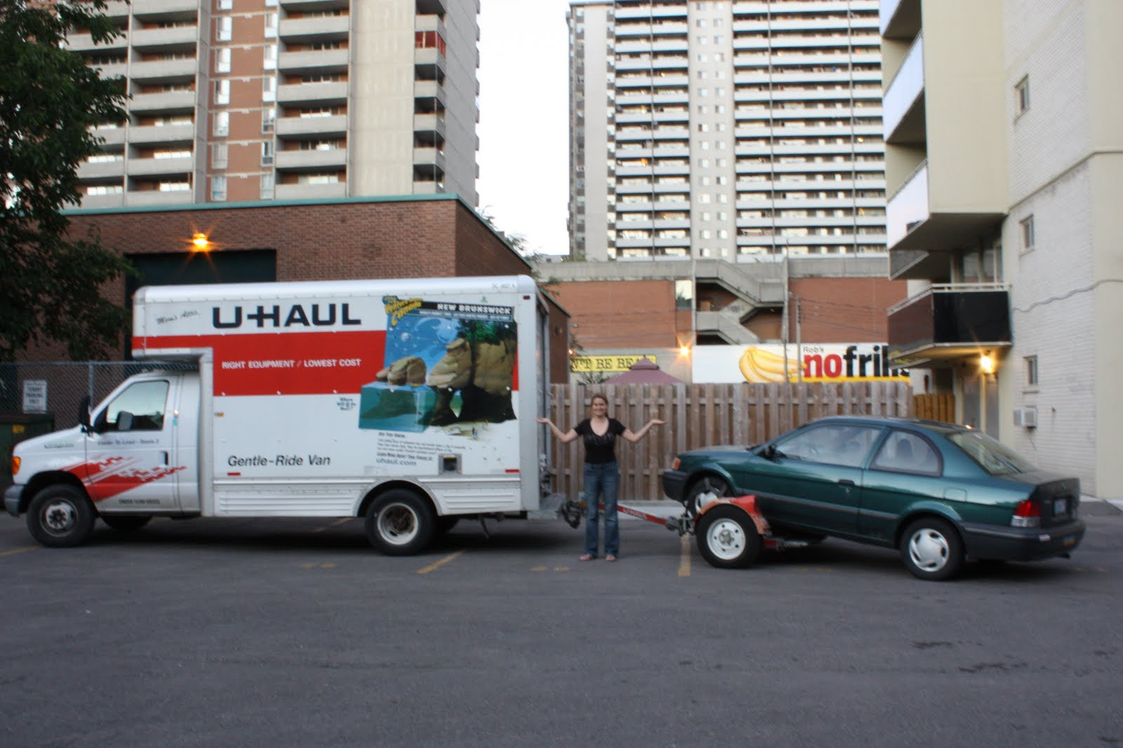 Uhaul Can My Car Tow