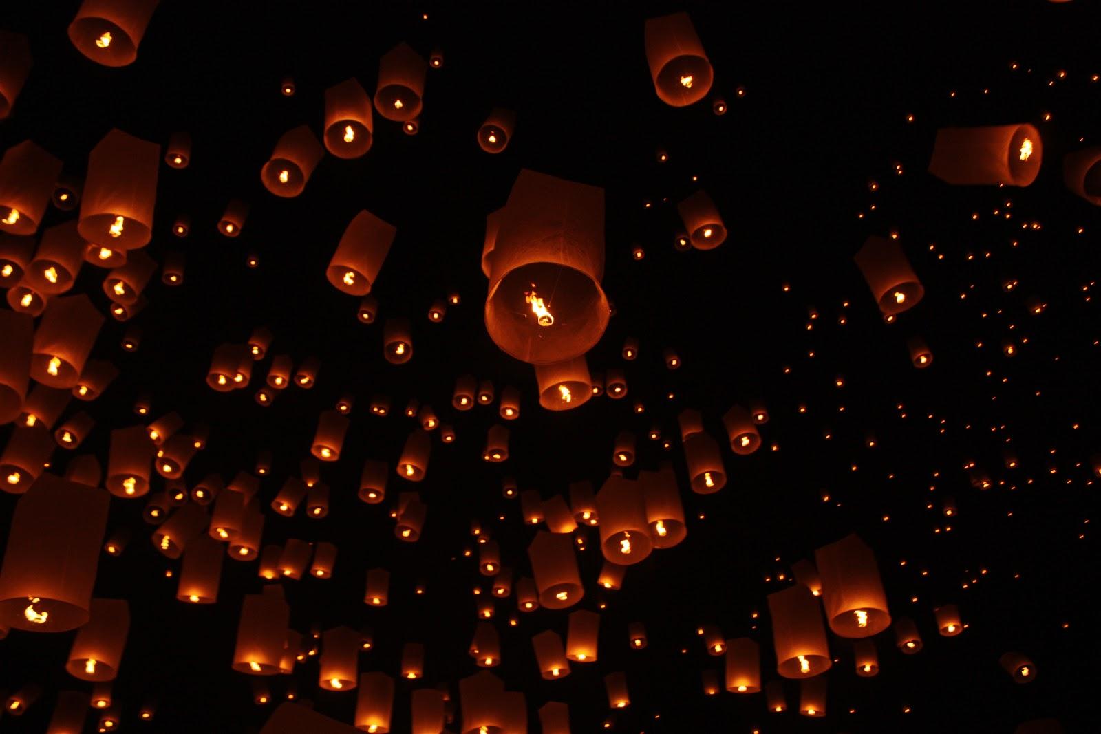 Yi Peng - The Lantern Festival - Bounding Over Our Steps for Lantern Festival Tangled  56bof